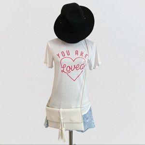 Isabel Maternity You Are Loved Graphic Tee XS